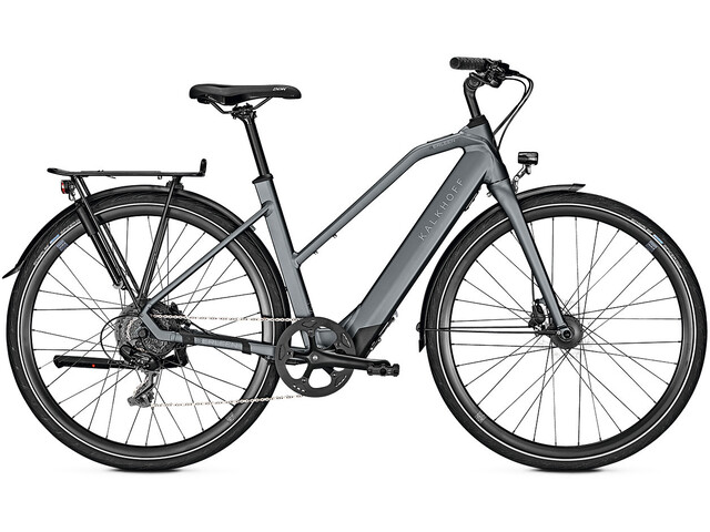 Kalkhoff Berleen 5.G Move E-citybike Trapez 252Wh grå